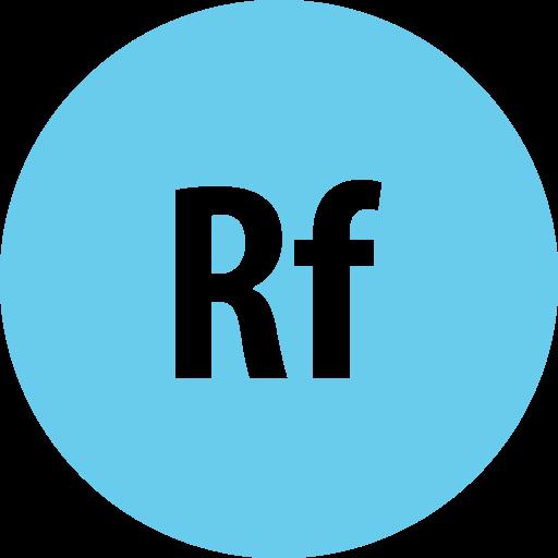 adobe, edgereflow, round icon