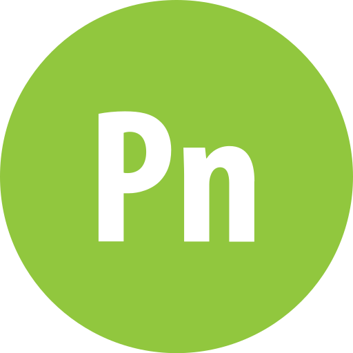 adobe, presenter, round icon
