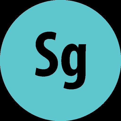 adobe, round, speedgrade icon