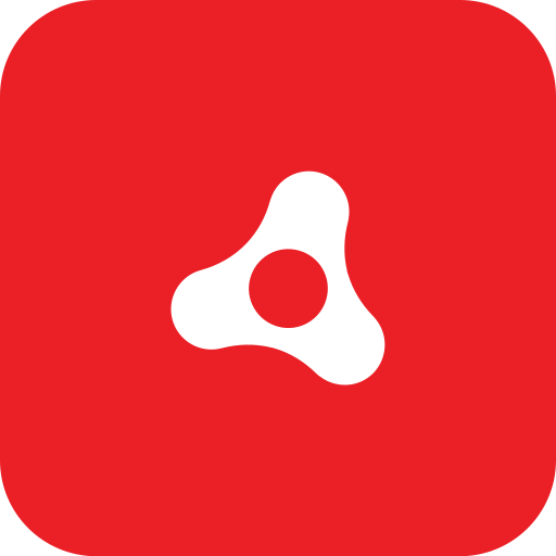 adobe, air, rounded icon