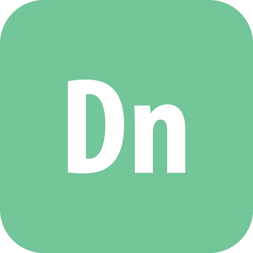 adobe, dimension, rounded icon