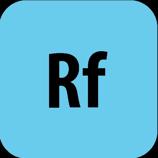 adobe, edgereflow, rounded icon