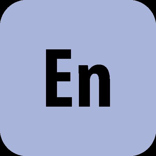 adobe, encore, rounded icon