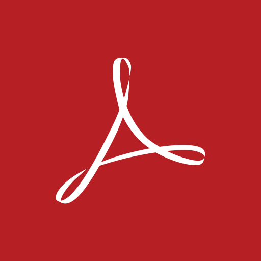acrobat, adobe, square icon