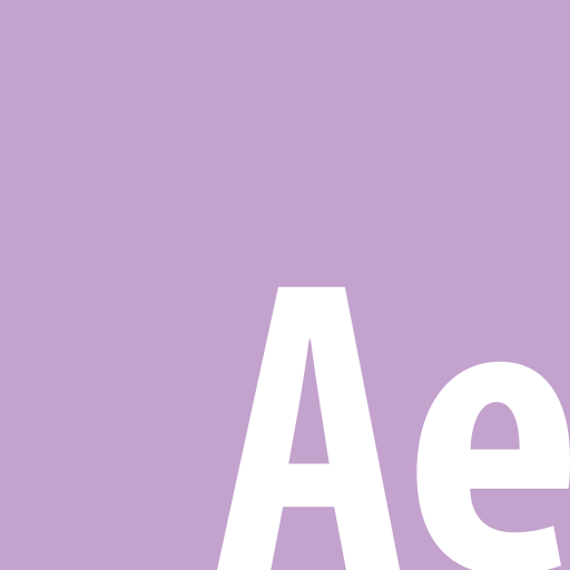 adobe, aftereffects, square icon