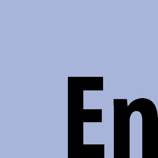 adobe, encore, square icon