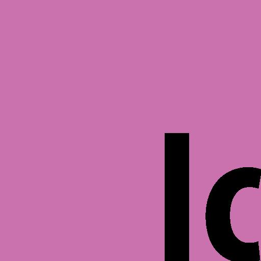 adobe, incopy, square icon