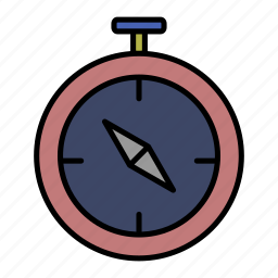 adventure, camp, camping, compass, recreation icon