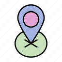 adventure, camping, card, navigator, trip icon