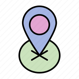 adventure, camping, card, navigator, trip icon