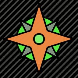 adventure, camping, card, navigator, travel, trip icon