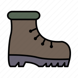 adventure, boots, camping, expedition, hiking, trip icon