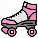adventure, extreme, roller, skate, sports