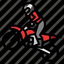 extreme, motorbike, motorsport, race, speed