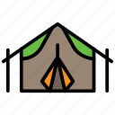 adventure, camp, camping, outdoor, summer, tent, wildlife icon