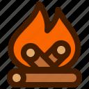 adventure, bonfire, fire, outdoor, travel, trip