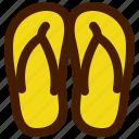 adventure, flip, flops, outdoor, travel, trip icon