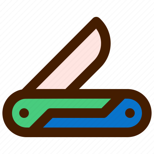 adventure, knife, outdoor, travel, trip icon