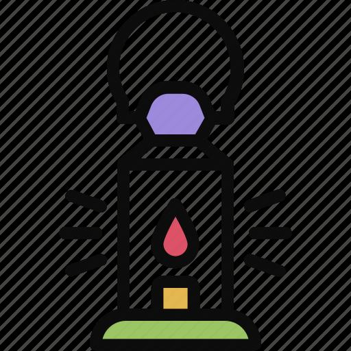 adventure, lamp, lantern, light icon