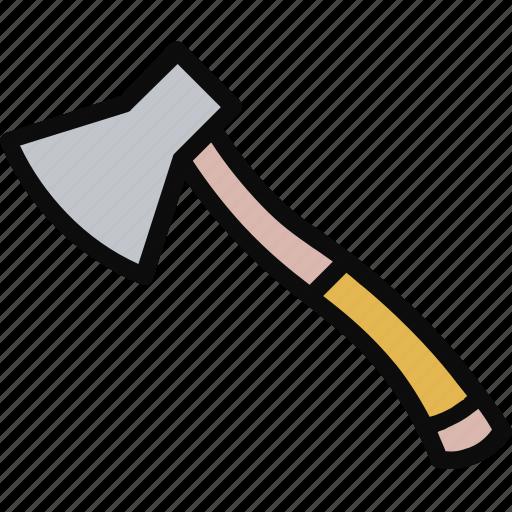 Adventure, axe, blade, equipment, lumberjack icon - Download on Iconfinder