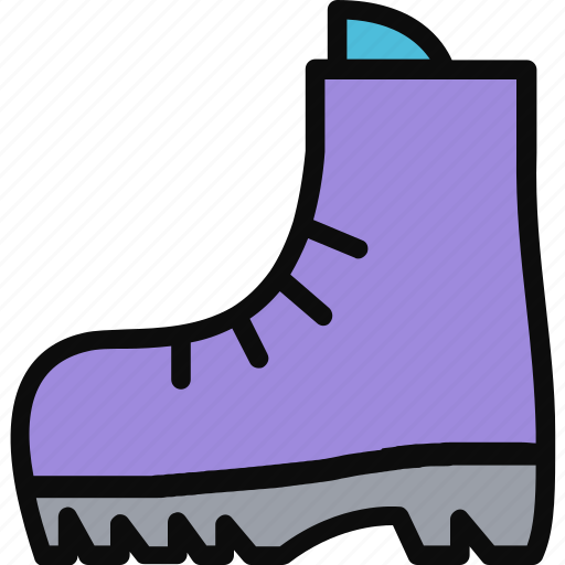 adventure, boot, footwear, hiking, walking icon