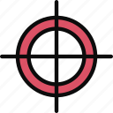 accuracy, adventure, focus, target icon