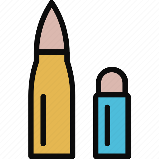 Adventure, ammo, ammunition, bullet, danger, military icon - Download on Iconfinder