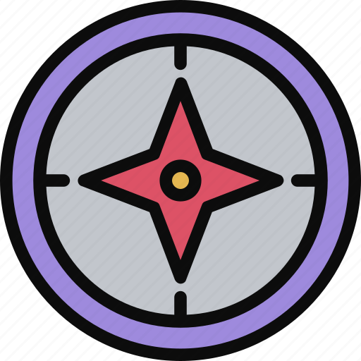 Adventure, compas, direction, journey, north icon - Download on Iconfinder