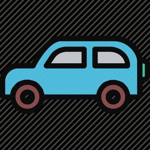 adventure, automotive, car, transport, transportation icon