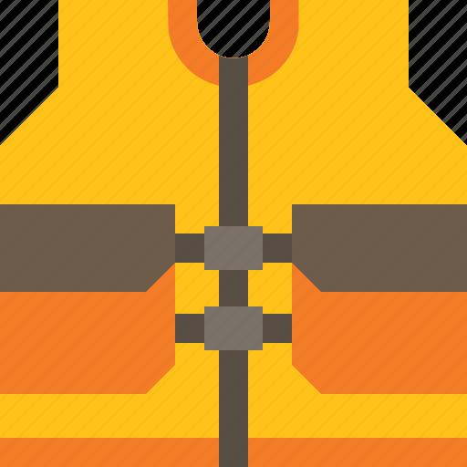 emergency, jacket, life, vest icon