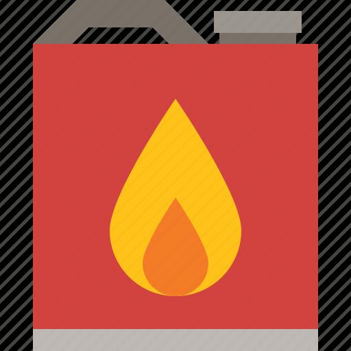 fire, fuel, gas, gasoline icon