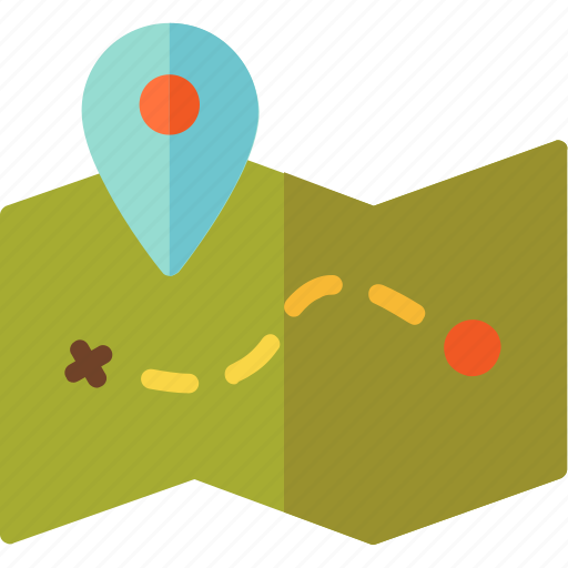 Adventure, journey, location, map icon - Download on Iconfinder