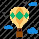 air, balloon icon