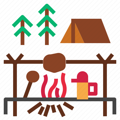 Barbecue, camp, grill icon - Download on Iconfinder