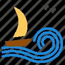 boat, sailing