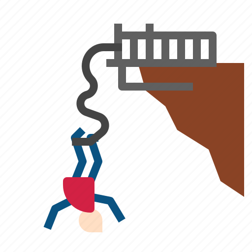 bungee, jumping icon