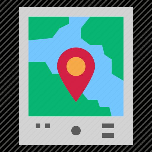 gps, mobile, navigation icon