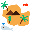 island, map