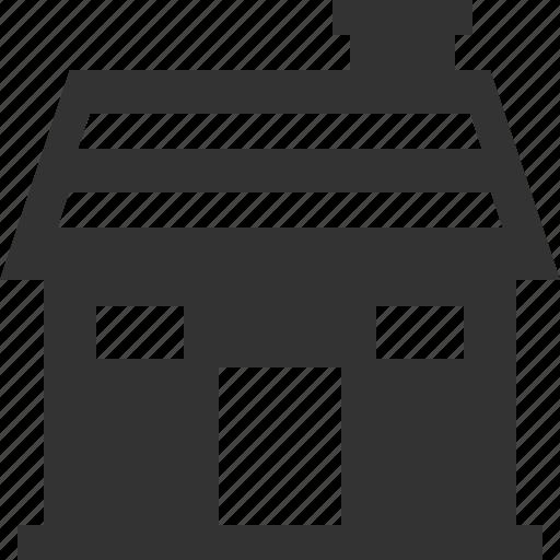 cabin, house, hut, resort icon