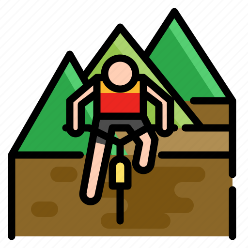 activities, adventure, bike, extreme, mountain, outdoor, sport icon