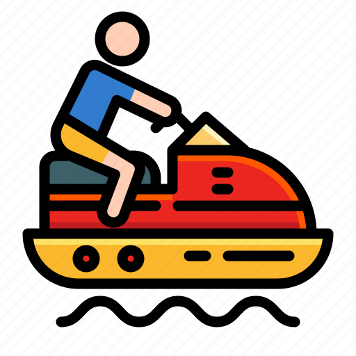 activities, adventure, extreme, jet, outdoor, ski, sport icon