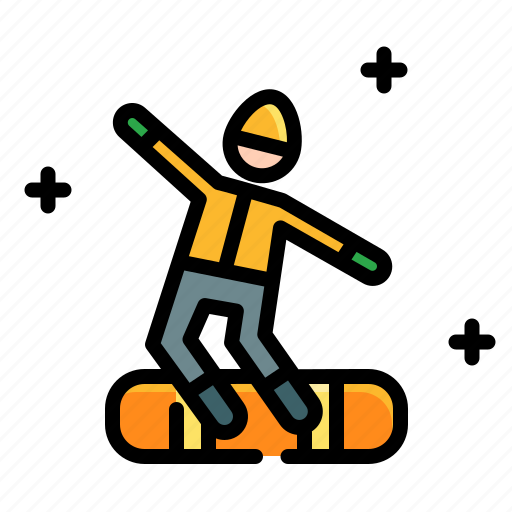 activities, adventure, board, extreme, outdoor, snow, sport icon