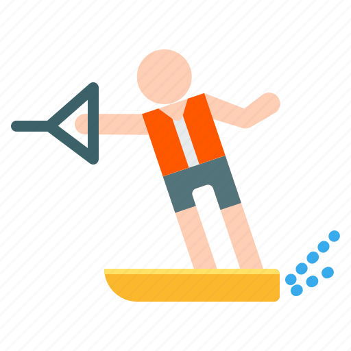 activities, adventure, extreme, outdoor, ski, sport, water icon