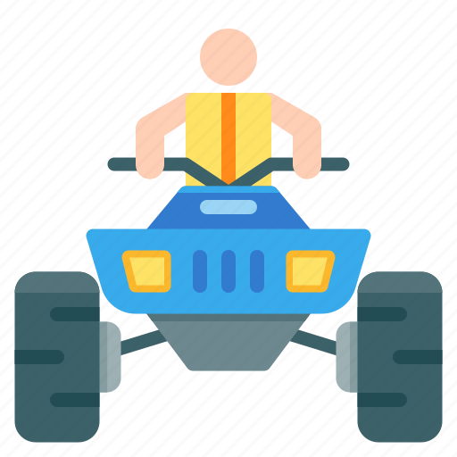 activities, adventure, atv, extreme, outdoor, riding, sport icon