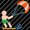 activities, adventure, extreme, kite, outdoor, sport, surfing