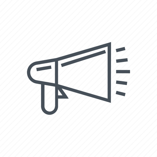 Advertisement, announcement, megaphone, promotion icon - Download on Iconfinder