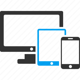 computer, devices, eco sphere, hardware, mobile, phone, technology icon