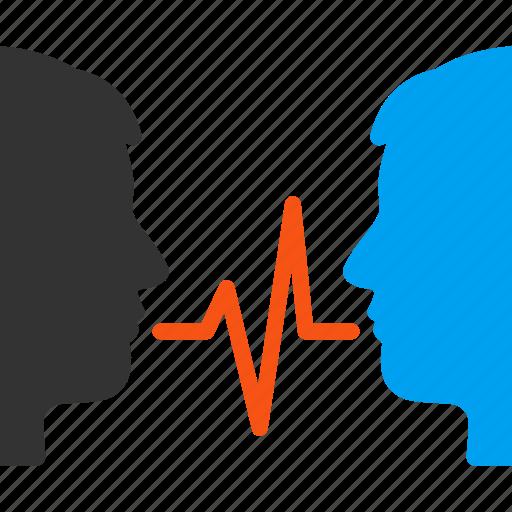 Chat, communication, conversation, dialog, speak, speech ...