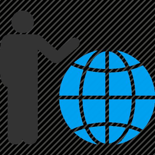 earth, global marketing, globe, international, planet, seo, world business icon