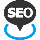 geo targeting, location, place, point, pointer, position, seo icon
